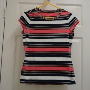 The Limited Perfect Tee Stripes Size Small
